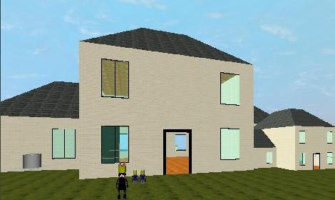 La casa a pezzo unico costruita in 3d da Re Krypto96