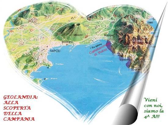 Geolandia: la Campania in Scuola3d