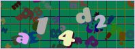 This is a captcha-picture. It is used to prevent mass-access by robots. (see: www.captcha.net)